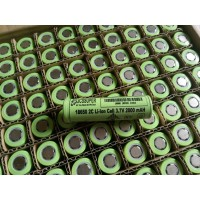JCSSUPER li-Ion 3.7v 18650 Cells 2000 mAH 800 Cycles Rechargeable With 1 Year Warranty