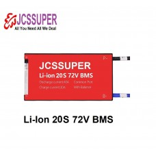 JCSSUPER 20S BMS 72V 45A Li ion Waterproof BMS For Rechargeable Lithium Battery With Same Port